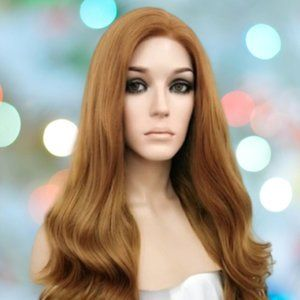 👉BOGO Synthetic Lace Front Wig Strawberry Blonde